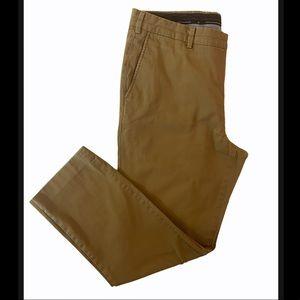 Hart Schaffner Marx Brown Casual Pants 38x32
